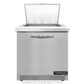 Continental Refrigerator SW32N12M-FB Refrigerated Counter, Mega Top Sandwich / S