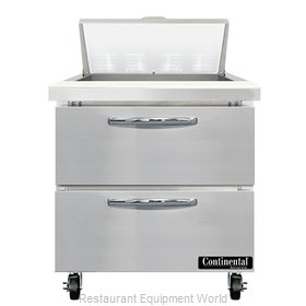 Continental Refrigerator SW32N8-D Refrigerated Counter, Sandwich / Salad Unit