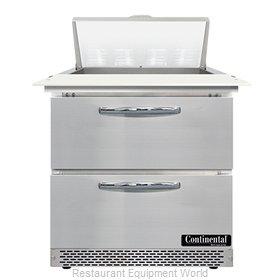Continental Refrigerator SW32N8C-FB-D Refrigerated Counter, Sandwich / Salad Uni