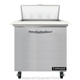 Continental Refrigerator SW32N8C Refrigerated Counter, Sandwich / Salad Unit