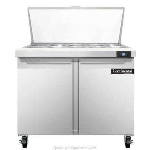 Continental Refrigerator SW36-15M Refrigerated Counter, Mega Top Sandwich / Sala