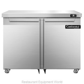 Continental Refrigerator SW36-U Refrigerator, Undercounter, Reach-In