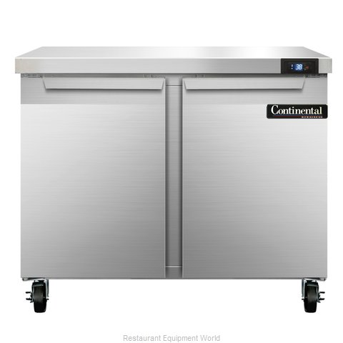 Continental Refrigerator SW36 Refrigerated Counter, Work Top