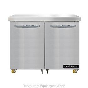 Continental Refrigerator SW36N-U Refrigerator, Undercounter, Reach-In