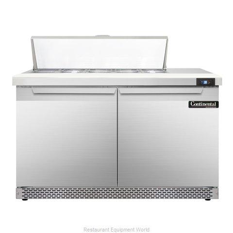 Continental Refrigerator SW48-10C-FB Refrigerated Counter, Sandwich / Salad Top