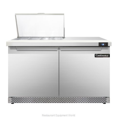 Continental Refrigerator SW48-12M-FB Refrigerated Counter, Mega Top Sandwich / S