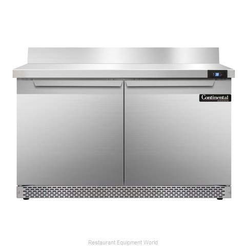 Continental Refrigerator SW48-BS-FB Refrigerated Counter, Work Top