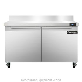 Continental Refrigerator SW48-BS Refrigerated Counter, Work Top