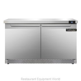 Continental Refrigerator SW48-FB Refrigerated Counter, Work Top