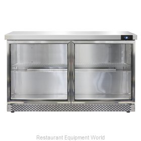 Continental Refrigerator SW48-GD-FB Refrigerated Counter, Work Top