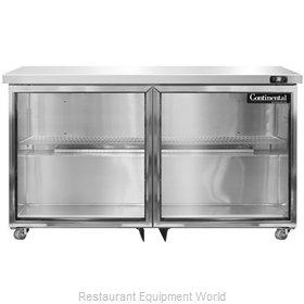 Continental Refrigerator SW48-GD-U Refrigerator, Undercounter, Reach-In