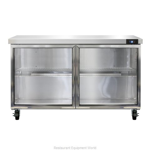 Continental Refrigerator SW48-GD Refrigerated Counter, Work Top