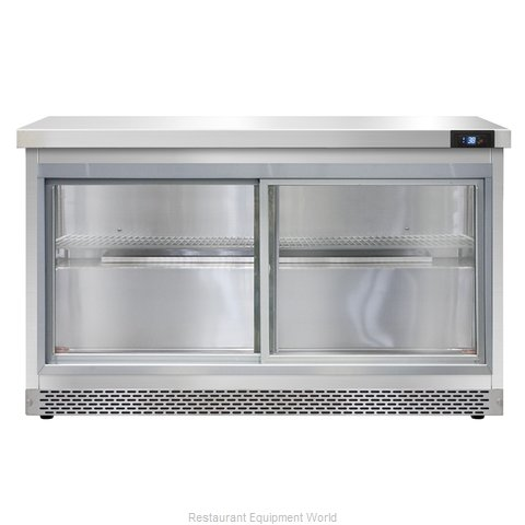 Continental Refrigerator SW48-SGD-FB Refrigerated Counter, Work Top