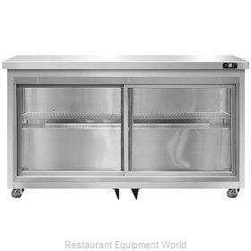 Continental Refrigerator SW48-SGD-U Refrigerator, Undercounter, Reach-In