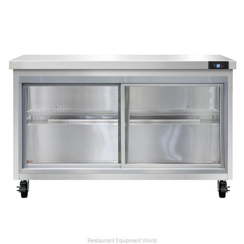Continental Refrigerator SW48-SGD Refrigerated Counter, Work Top