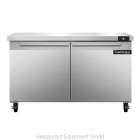 Continental Refrigerator SW48 Refrigerated Counter, Work Top
