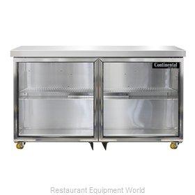 Continental Refrigerator SW48NGD-U Refrigerator, Undercounter, Reach-In