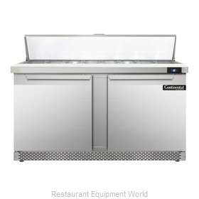 Continental Refrigerator SW60-16-FB Refrigerated Counter, Sandwich / Salad Top