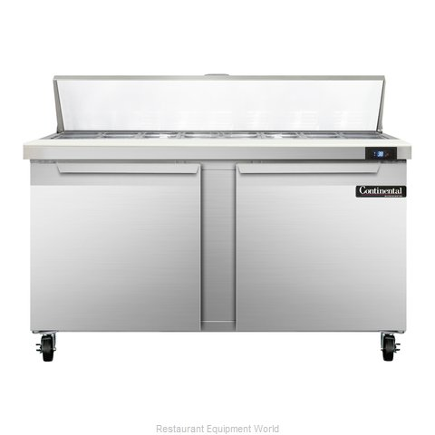 Continental Refrigerator SW60-16 Refrigerated Counter, Sandwich / Salad Top