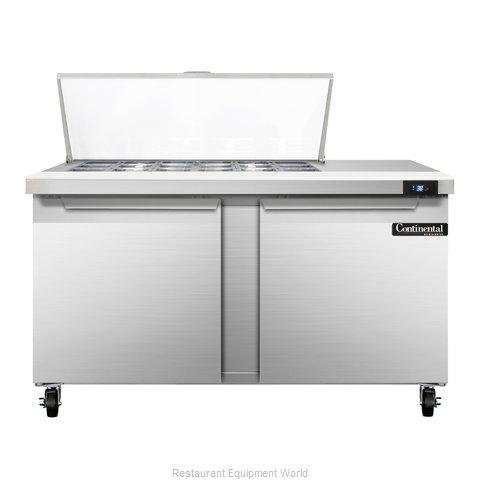 Continental Refrigerator SW60-18M Refrigerated Counter, Mega Top Sandwich / Sala