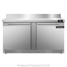 Continental Refrigerator SW60-BS-FB Refrigerated Counter, Work Top
