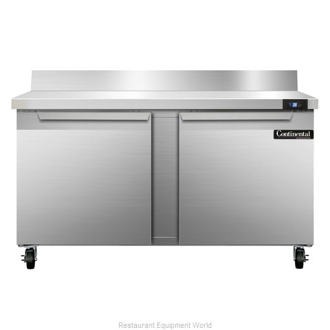 Continental Refrigerator SW60-BS Refrigerated Counter, Work Top