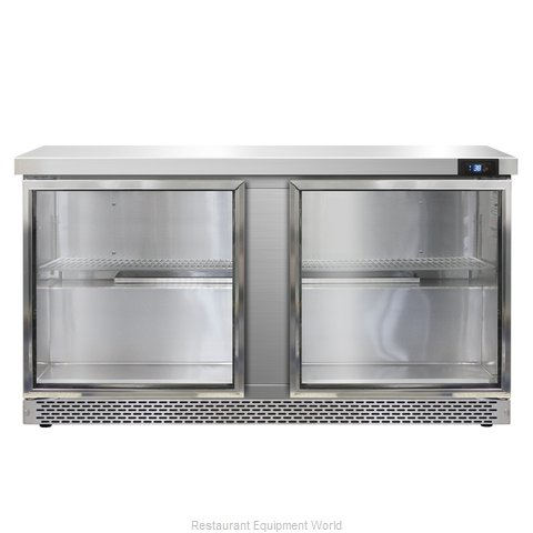 Continental Refrigerator SW60-GD-FB Refrigerated Counter, Work Top