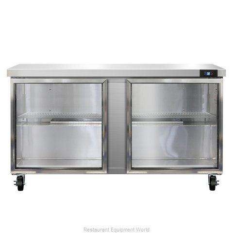 Continental Refrigerator SW60-GD Refrigerated Counter, Work Top