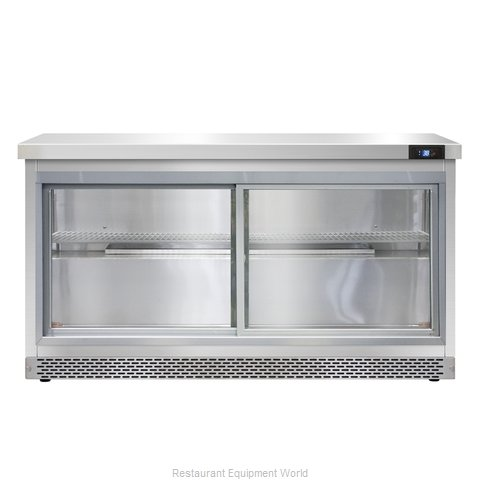 Continental Refrigerator SW60-SGD-FB Refrigerated Counter, Work Top