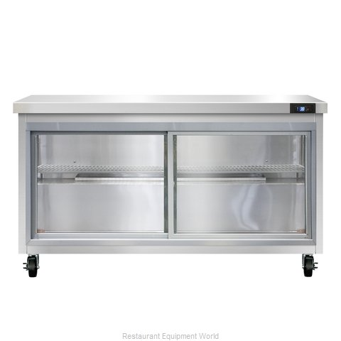 Continental Refrigerator SW60-SGD Refrigerated Counter, Work Top