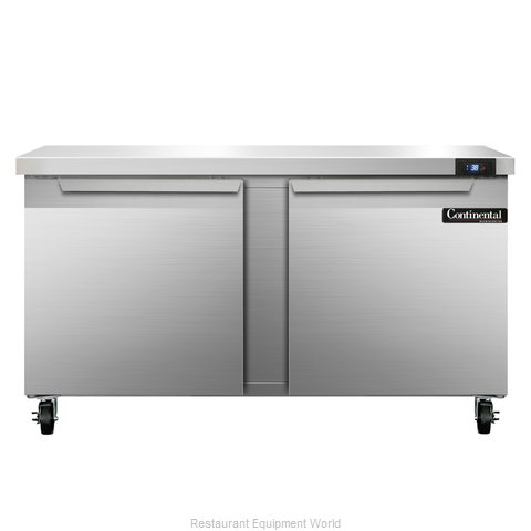 Continental Refrigerator SW60 Refrigerated Counter, Work Top