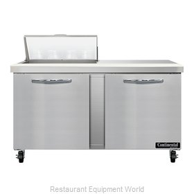 Continental Refrigerator SW60N8 Refrigerated Counter, Sandwich / Salad Unit