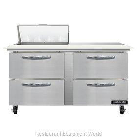 Continental Refrigerator SW60N8C-D Refrigerated Counter, Sandwich / Salad Unit