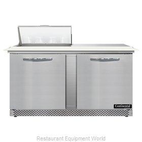 Continental Refrigerator SW60N8C-FB Refrigerated Counter, Sandwich / Salad Unit