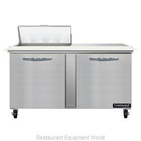 Continental Refrigerator SW60N8C Refrigerated Counter, Sandwich / Salad Unit