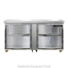 Continental Refrigerator SW60NGD-U Refrigerator, Undercounter, Reach-In