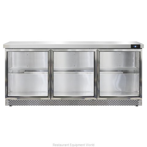 Continental Refrigerator SW72-GD-FB Refrigerated Counter, Work Top