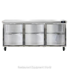 Continental Refrigerator SW72-GD Refrigerated Counter, Work Top