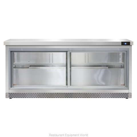 Continental Refrigerator SW72-SGD-FB Refrigerated Counter, Work Top