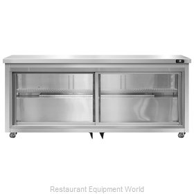 Continental Refrigerator SW72-SGD-U Refrigerator, Undercounter, Reach-In