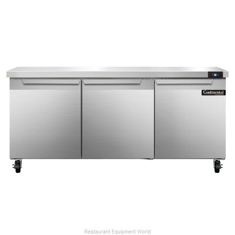 Continental Refrigerator SW72 Refrigerated Counter, Work Top