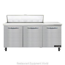 Continental Refrigerator SW72N12 Refrigerated Counter, Sandwich / Salad Unit