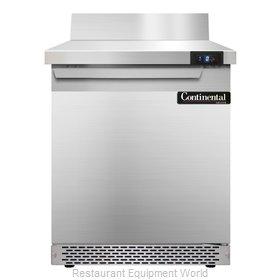 Continental Refrigerator SWF27-BS-FB Freezer Counter, Work Top