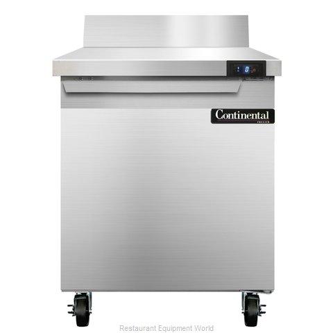 Continental Refrigerator SWF27-BS Freezer Counter, Work Top
