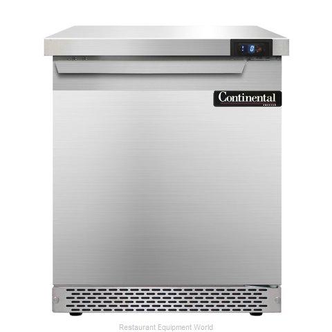 Continental Refrigerator SWF27-FB Freezer Counter, Work Top