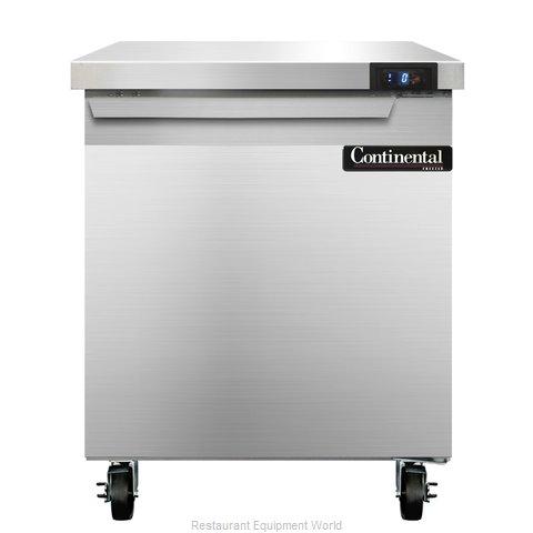 Continental Refrigerator SWF27 Freezer Counter, Work Top
