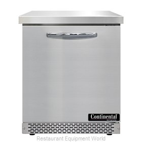 Continental Refrigerator SWF27N-FB Freezer Counter, Work Top