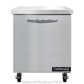 Continental Refrigerator SWF27N Freezer Counter, Work Top