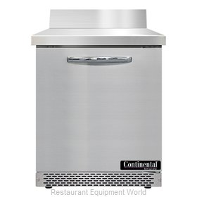 Continental Refrigerator SWF27NBS-FB Freezer Counter, Work Top
