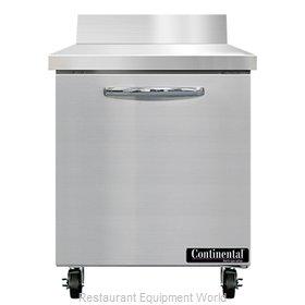 Continental Refrigerator SWF27NBS Freezer Counter, Work Top
